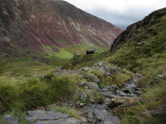 Cadir Idris on the way down
