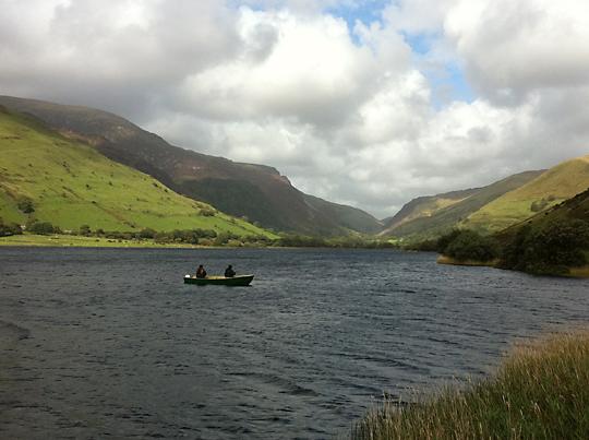 Drifting Tal-y-Llyn Lake
